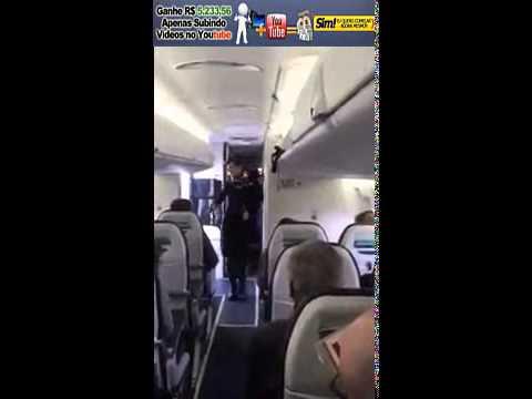 Aeromoça Funkeira bombando