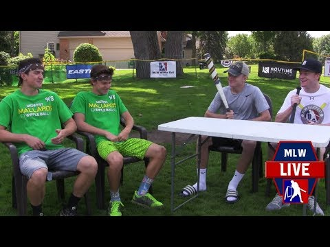 World Series Pregame Show MLW Wiffle Ball