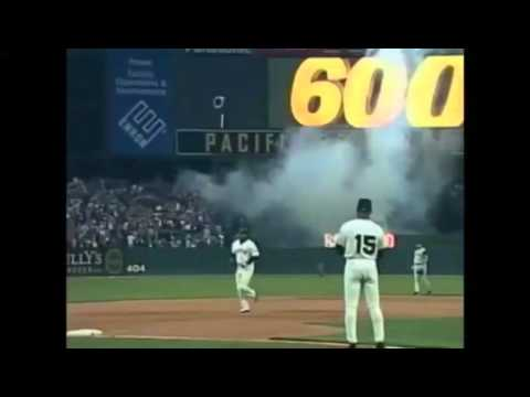 Barry Bonds Milestone Homeruns
