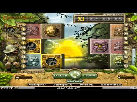 Caça-Níquel Gonzo's Quest Slot no Betboo Casino