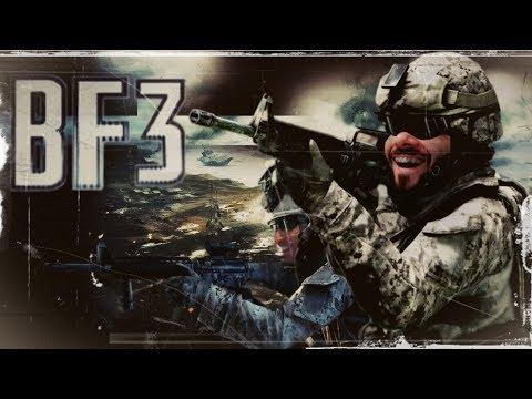 Battlefield 3 PT 01 - Ping alto DPI zuado e o pai morrendo esse vídeo ta um lixo