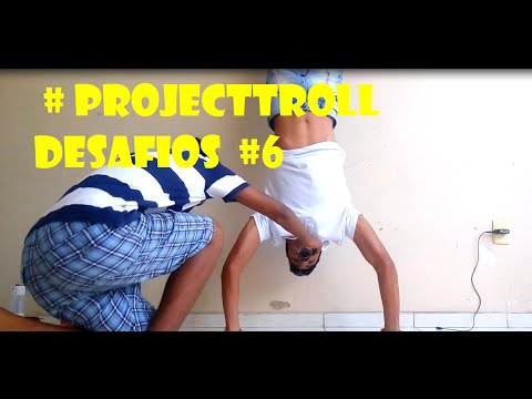 ProjectTroll - Bebendo Coca de cabeça pra baixo