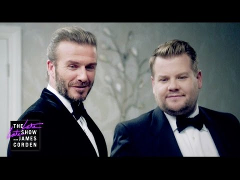 The Next James Bond - David Beckham v James Corden