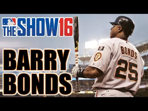 MLB The Show 16 Legends Player Lock Ep 100 Barry Bonds