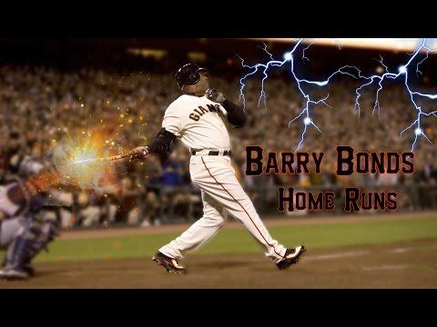 BARRY BONDS BEST HOMERUNS