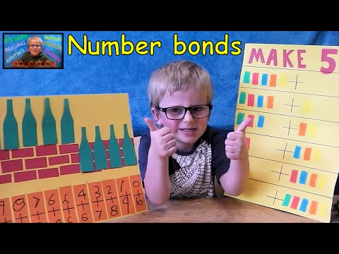 How to Master Number Bonds - Creative Maths Kids Educational Videos