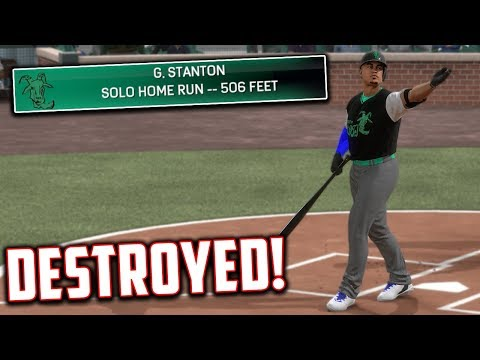 THIS BALL WAS CRUSHED 500 FT MLB The Show 17 Battle Royale
