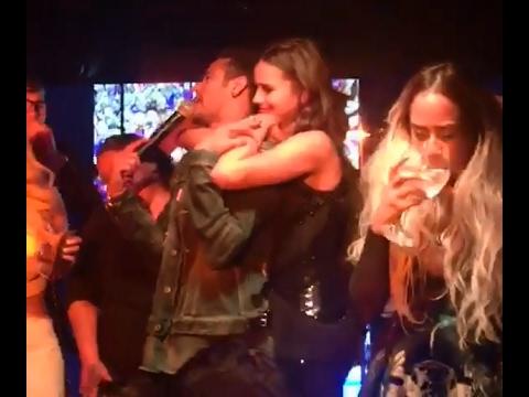 Neymar dança FUNK com Marquezine no seu aniversário de 25 anos Neymar dance with Marquezine