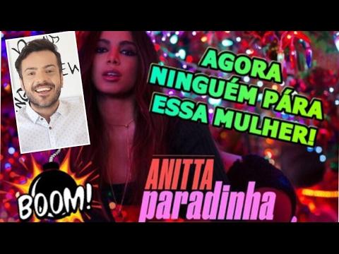 Anitta - Paradinha Vídeo Oficial REAÇÃO DE UM PORTUGUÊS REACTION