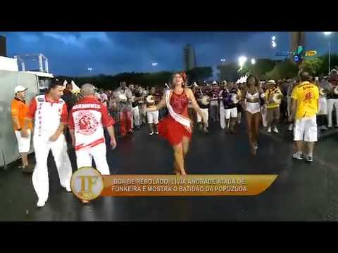 Lívia Andrade vira funkeira e mostra o rebolado