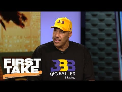 LaVar Ball talks 'Ball In The Family' on Facebook First Take ESPN
