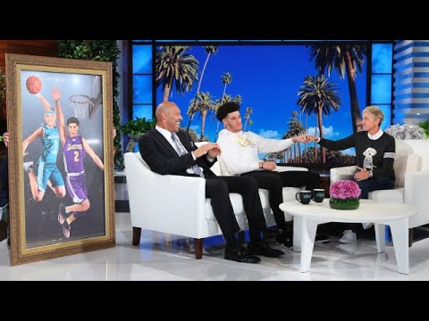 L A Lakers Rookie Lonzo Ball and Dad LaVar Talk About Being True Ballers