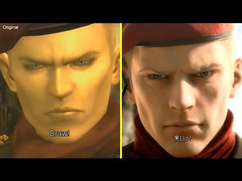 Metal Gear Solid 3 Pachinko vs PS3 Original Graphics Comparison New Gameplay