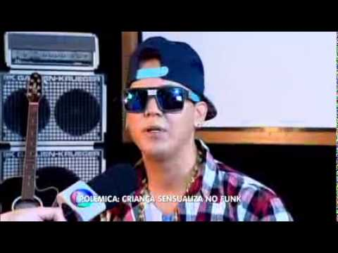 Balanço Geral SP 22 04 2015 Polêmica da funkeira MC Melody após aparecer em vídeos sensualizando