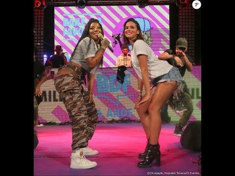 Bruna marquezine e ludmila dançando funk na balada