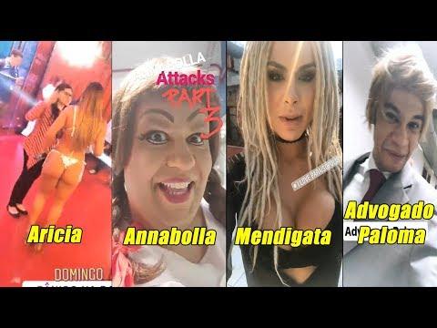 Bastidores do Pânico na Band - Panicats Carlinhos Advogado Paloma Annabolla e Cia