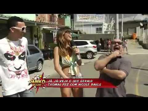 Sabrina mostra funkeiros de Bom Sucesso - Pânico Na Band HD - 14 04 13