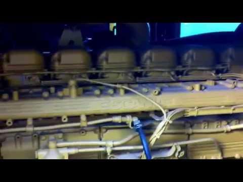 Gerador CAT motor scania 450 KVA visão geral e start
