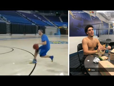 Liangelo Ball SHOWS OFF His New Moves Liangelo Ball UCLA Workout