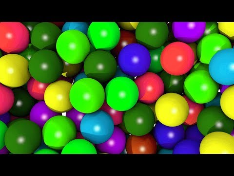 BALL PIT SHOW for Kids to Learning Colors in Playground - Panda Bo Bad Baby Educational Videos