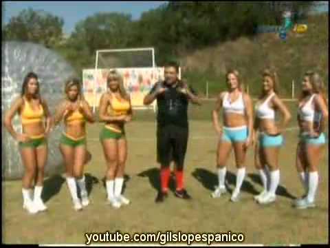 Pânico Na TV 18-07-2010 - Bola e as Panicats - Prova da Jabulani Humana