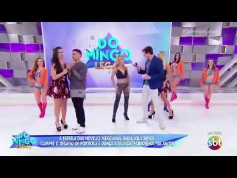 Angelique Boyer dança La Paradinha Música Oficial-Annita