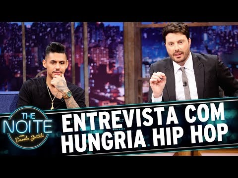 Entrevista com Hungria Hip Hop The Noite 09 06 17