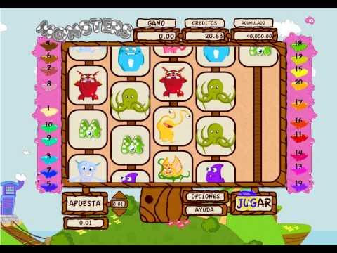 MONSTERS - JUEGO TRAGAMONEDAS - BETBOO CASINO ONLINE