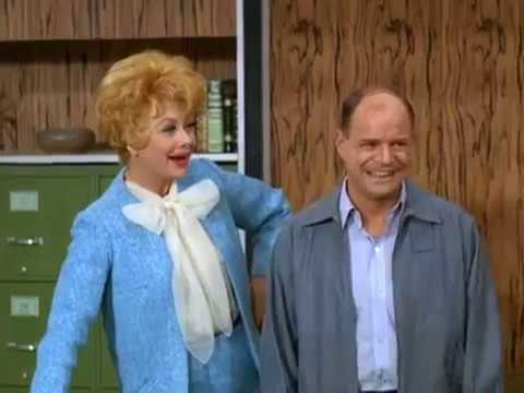 1967 THE LUCY SHOW - Lucy the Fight Manager - Lucille Ball Don Rickles