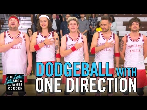 Dodgeball with One Direction