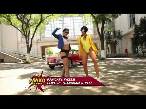 PANICO NA BAND - Panicats dançam PSY Gangnam Style