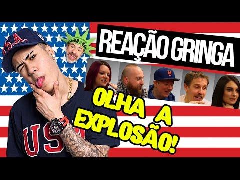 GRINGOS ESCUTAM O FUNK OLHA A EXPLOSÃO DE MC KEVINHO
