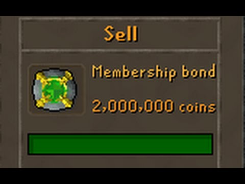 OSRS Bonds are here