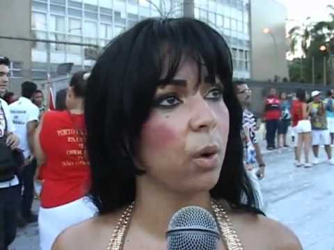 Mc Maysa tambem abusada no samba