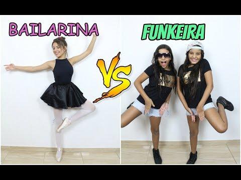 BAILARINA VS FUNKEIRA