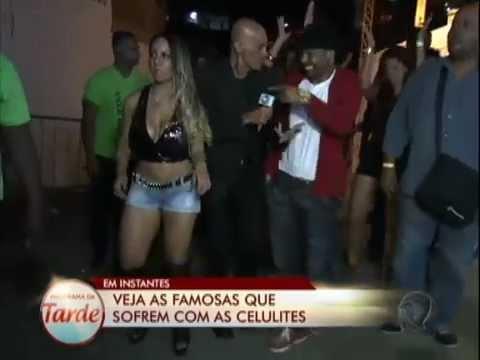 Amin Khader leva Mulher Melão e funkeiras para curtirem show de Buchecha