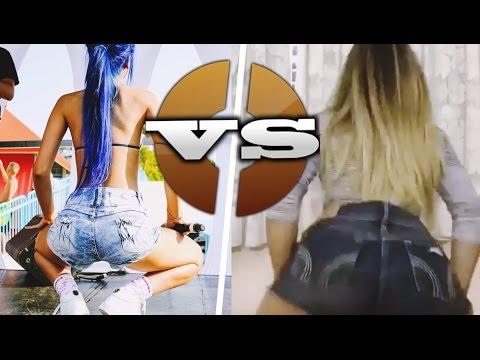 Tati Zaqui vs Mc Bella - DUELO DE QUADRADINHO