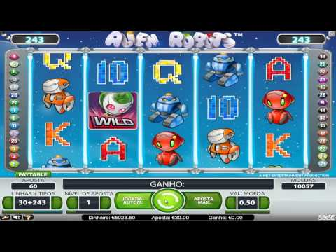 Vídeo Caça-Ní quel Alien Robots do Betboo Casino