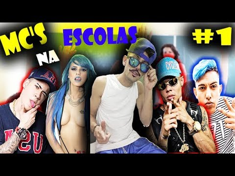 MC's NA ESCOLAS 1 Mc Lan Mc Wm Mc kevinho Mc Linvinho Mc Tatti Zaki Luddmilla Mc Fiote