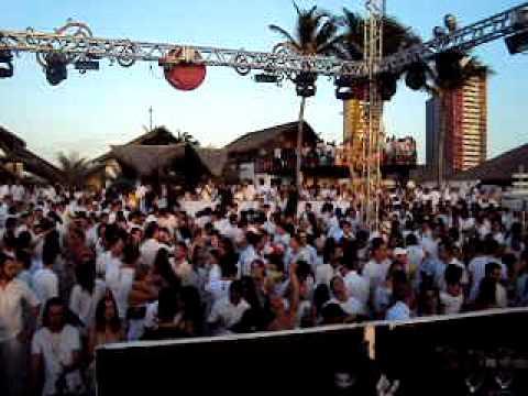 Pacha @ Fortaleza white party Dj DA CAT