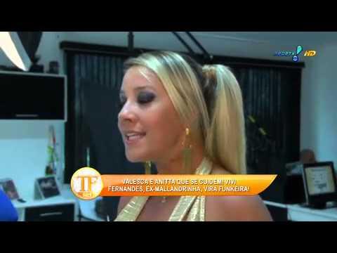 TV Fama Ex Mallandrinha Vivi Fernandez vira funkeira Quero ganhar graninha 25 11 2014 mircmirc