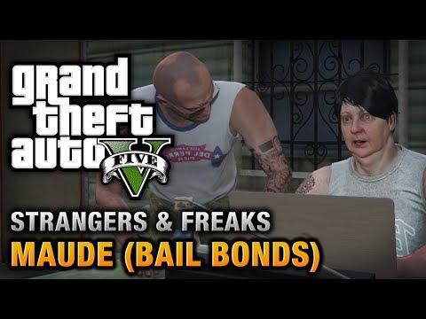 GTA 5 - Maude Bail Bonds Wanted Alive or Alive Achievement Trophy