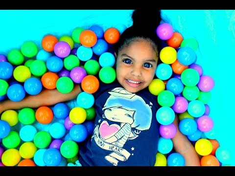 THE BALL PIT SHOW FOR LEARNING COLORS CHILDREN EDUCATIONAL VIDEOS