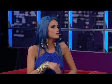 Tati Zaqui explica polêmica com a música proibida 'Parara Tibum'