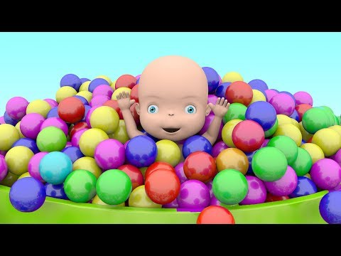 Learn Colors With Baby and Ball Pit Show