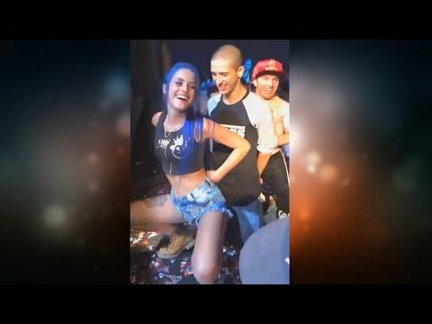 Tati Zaqui Dança em Show a Paradinha de Anitta