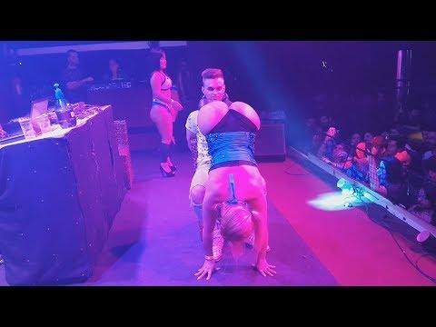 Mc Fantine Servindo Tequila no Show das Tequileiras em Sorocaba - SP