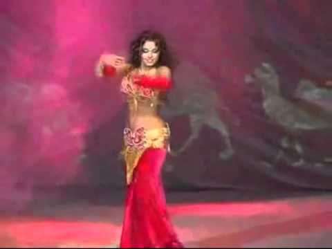 Santana Black Magic Woman with sensational belly dancer