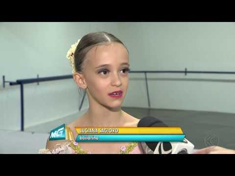 Essa vai ser bailarina famosa com certeza Luciana Sagioro