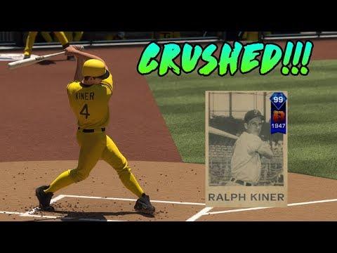 99 Ralph Kiner DESTROYS the Ball MLB The Show 17 Diamond Dynasty